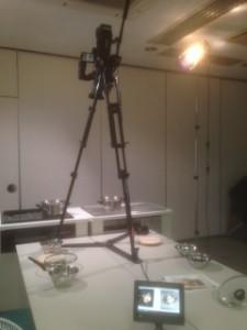商品ビデオ撮影