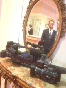 結婚式ビデオ2カメ撮影