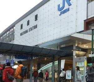 岡山駅写真