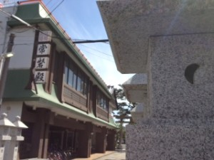 岸和田天神宮の披露宴会場